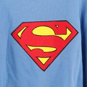 Warner Bros. Shirts - Vintage 90s Warner Bros Superman Sweatshirt Blue